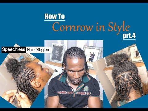how-to-cornrow-style-for-men!-half-cornrow-half-box-braids