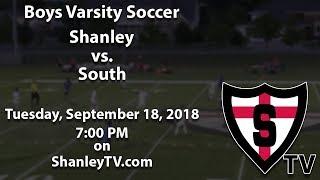 Boys Varsity Soccer: Shanley vs. South