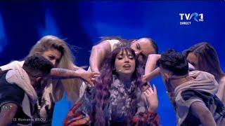 Roxen – Amnesia   Prima semifinală Eurovision Song Contest 2021