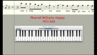 Pharrell Williams Happy Keyboard/Guitar Cover