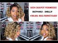 RED CARPET PREMIERE 4x4 Swiss Lace Front Wig   RCP4402 DOLLY   Color: SR2/HONEYASH