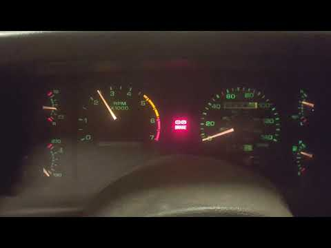 93 Mustang Reef Blue Dash