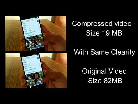 How To Compress Video Size Without Losing Video Quality On Your Android