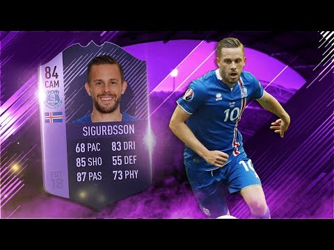 FIFA 18 Hero Sigurdsson Review - Purple Hero Gylfi Sigurdsson Player Review - FIFA 18 ULTIMATE TEAM