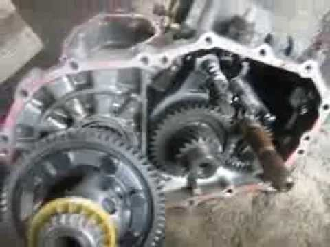 5 Speed Toyota Transaxle Teardown