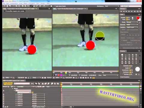 Adobe After Effects 11. Как раскрасить видео.