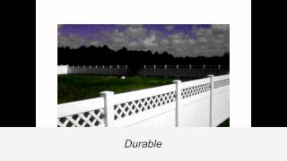 Vinyl Fence Made In Usa By Foremost Fence
