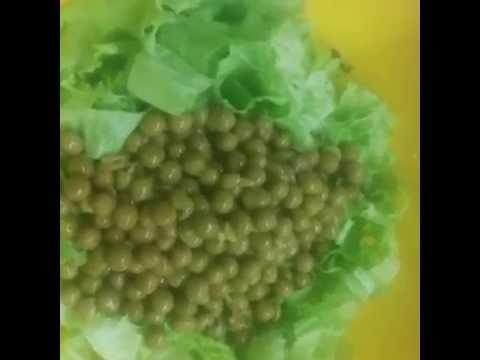 Салаты с горошком консервированным рецепты