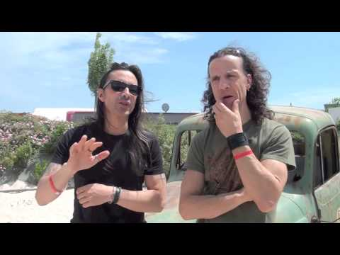 INTERVIEW WITH EXTREME @ HELLFEST 2014 BY ROCKNLIVE PROD
