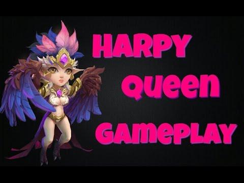 Castle Clash Harpy Queen Gameplay!