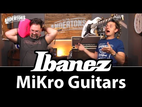 Ibanez Mikro Guitars - The Perfect Electric for Small People!