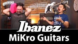 ibanez mikro guitars the perfect electric for small people