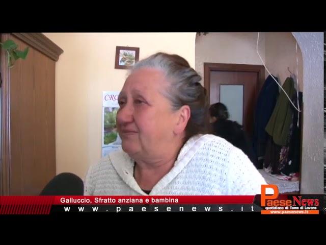 GALLUCCIO SFRATTO ANZIANA E BAMBINA