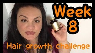 Hair Growth Challenge Week 8 | Biotin | New Shampoo