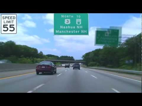 US-3 North: Lowell, MA to Nashua, NH