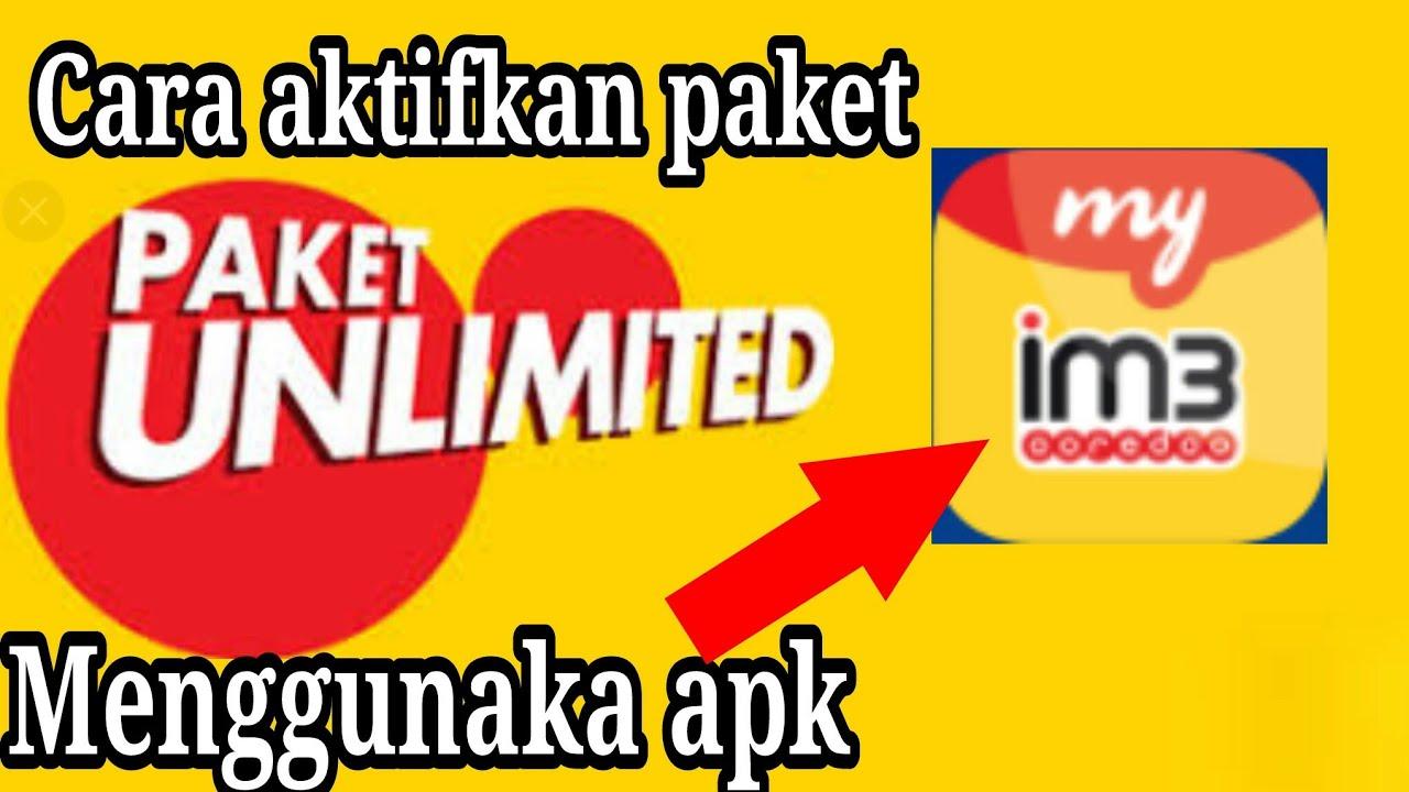 Jeboll Indosat Cara Aktifkan Kuota Unlimited Menggunakan Aplikasi