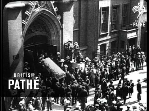 Rudolph Valentino's Funeral Aka Rudolphe Valentino's Funeral (1926)