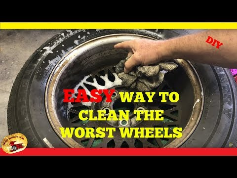How To Clean the DIRTIEST WHEELS & RIMS Some with Baked on Brake Dust