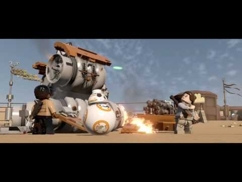 Let's play Lego Star Wars the Force Awakens (Yay) |