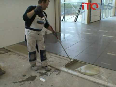 Itools Trowel For Tile Mortar Youtube