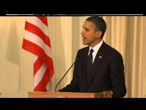 obama on gaza conflict