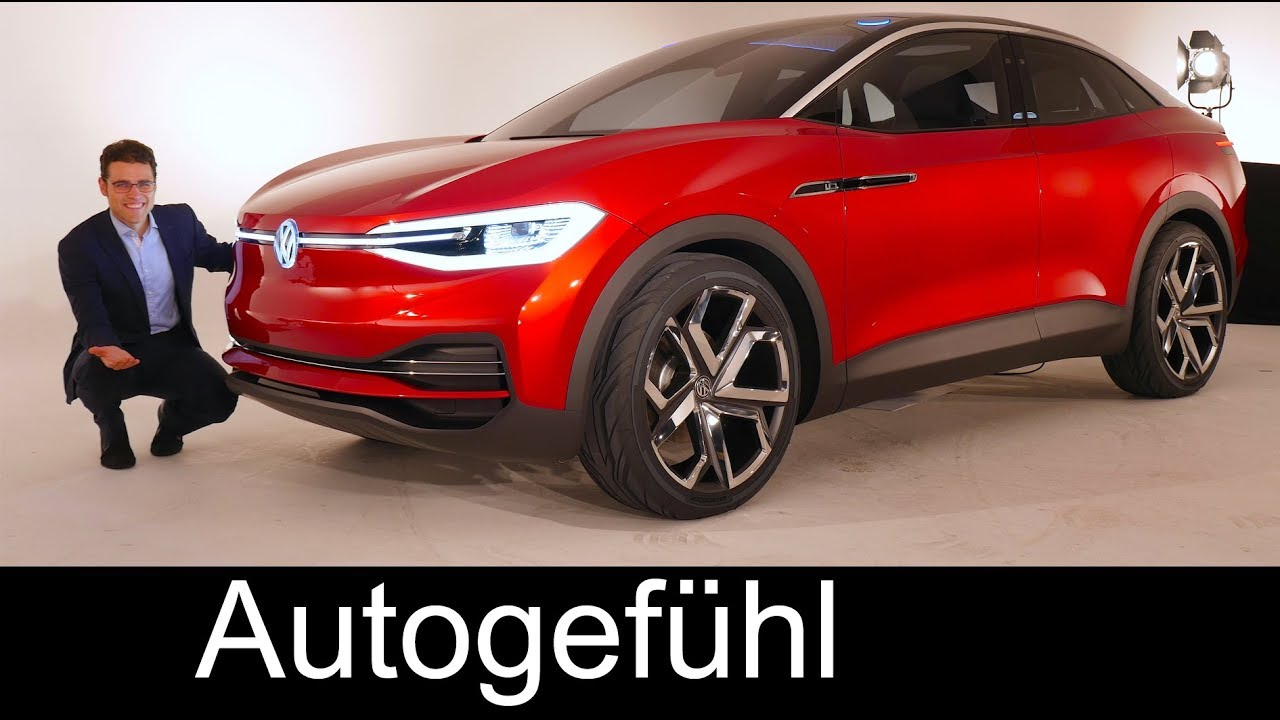 Volkswagen I D Crozz Suv Review The Future Vw Tiguan Electric Crossover