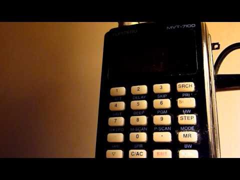 Amateur Radio,England Heard From Irvine,Ayrshire Scotland On 80m(9mar2012).Yupiteru MVT 7100