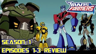 Transformers Animated Season 1 Episodes 1-3: Transform and Roll Out REVIEW