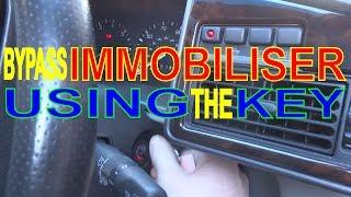 Immobiliser Not Working Car Wont Start Key Fob Faulty Byp Alarm Key