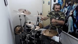 Love's A Slap In The Face (Kiss drum cover) - Fábio Moysés