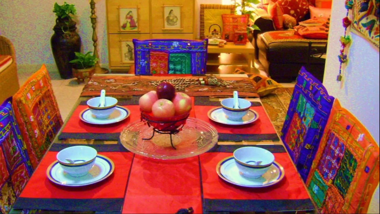 Creative Indian Art Dining Room Ideas