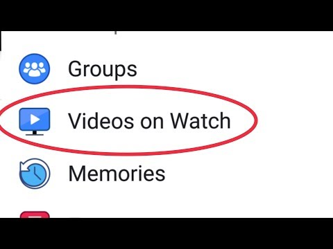 Facebook Videos On Watch Features