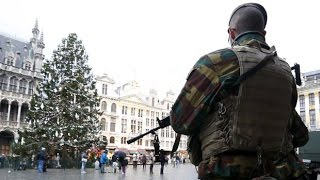 Life under lockdown in Brussels