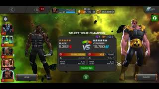 Fighting Red Skull 3 times!!! Marvel Contest of Champions!!!