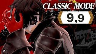 Super Smash Bros Ultimate - Classic Mode Joker 9.9 - MAX INTENSITY - Joker DLC