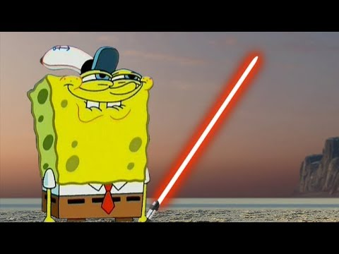 Star Wars Battlefront 2 Funny & Random Moments [FUNTAGE] #87  - Sponge Bob Special thumbnail