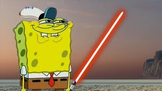 Star Wars Battlefront 2 Funny & Random Moments [FUNTAGE] #87  - Sponge Bob Special
