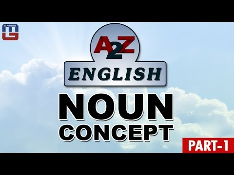 NOUN CONCEPT | BASIC ENGLISH GRAMMAR | IBPS PO | SSC CGL | RRB | CHSL | ALL COMPETITIVE  EXAMS