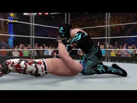 WWE2K17 | Mafia Match #20 - Our Greatest Steel Cage Match