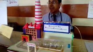 Science Model for controlling air pollution