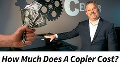 How Much Does A Copier Cost?