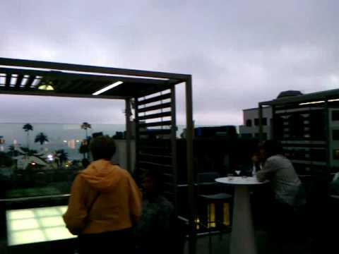 Dining deck santa monica place
