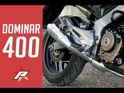 Custom Exhaust For Bajaj Dominar 400 Bumps Power, Drops 6