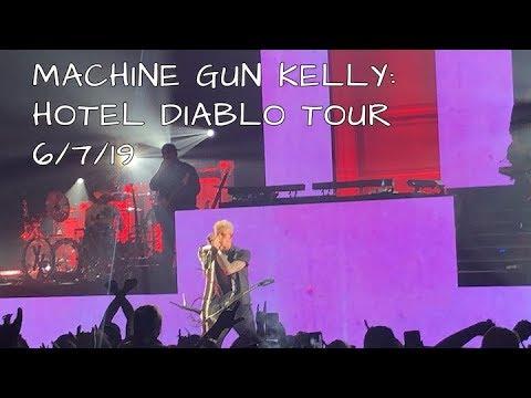 Mgk Concert Hotel Diablo Tour Worcester Ma Youtube