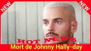 Mort de Johnny Hallyday : M Pokora moqué malgré son hommage par un journaliste de BFM TV