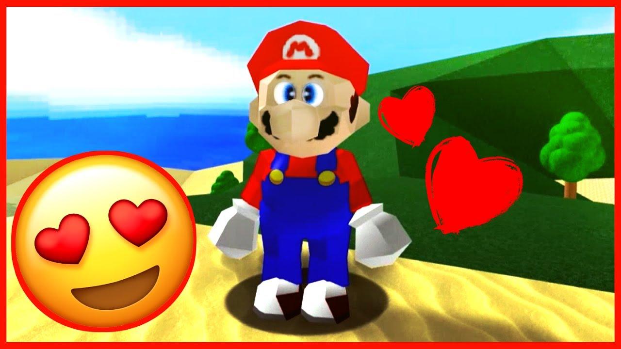 AMAZING MARIO FAN GAME! Super Mario 64 on ROBLOX Family Friendly