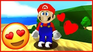 AMAZING MARIO FAN GAME! Super Mario 64 on ROBLOX Family Friendly