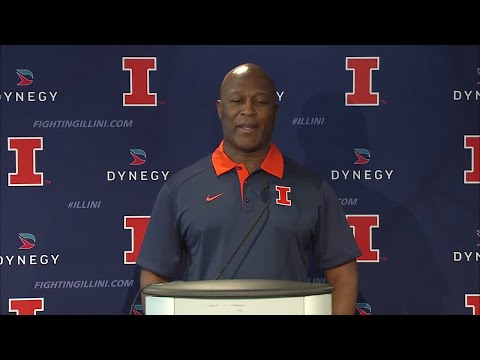 Lovie Smith Early Signing Day Press Conference 12/22/17