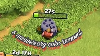 What happen when we cut 6 anniversary cake in clash of clans by 24*7gaming,24*7GAMING,,