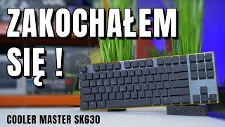 Cooler Master SK630 - slimowy mechanik na MX Cherry RED